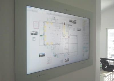 Touch Panel in Wand