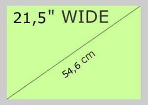 21,5 Wide