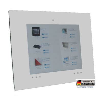 Touch Panel PC Media weiß