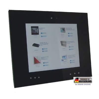 "Touch Panel PC 10,4"" Media schwarz"