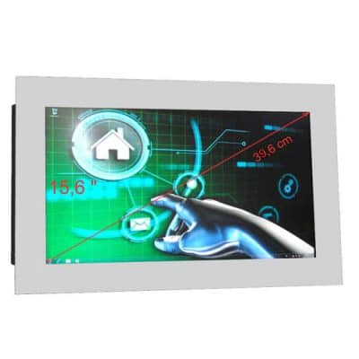 """Touch Monitor 15,6"""" weiss"""