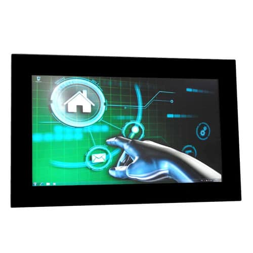 Monitor mit Vollglasfront - Anders Systems