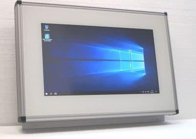 AS-Wandbox  Touch Panel PC zur Wandmontage