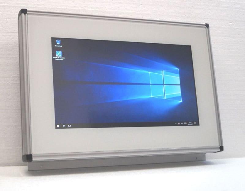 Touch Panel als Aufputzgerät