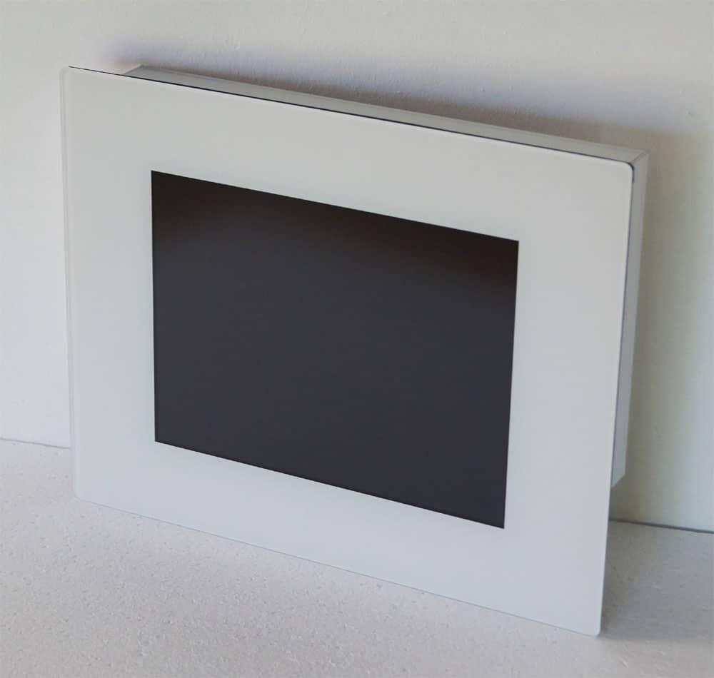 """Touch Panel 10,4"""" Vollglasfront mit ESG Sicherheitsglas"""