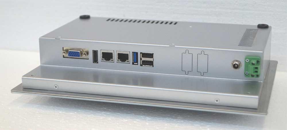 """Panel PC 10,1"""" Rückseite"""