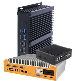 Leistungsfähige Industrie Box PC