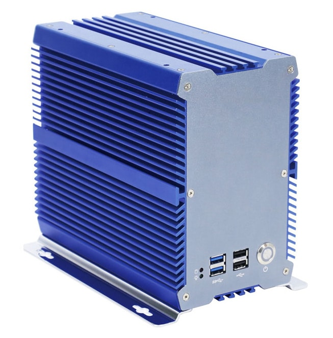 AS-BOx-701plus- Hochleistungs- Industrie Box PC  mit Core i5