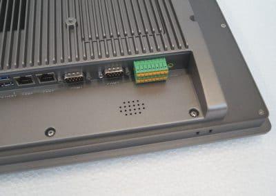 Industrie Touch Panel, Serie LC, Klemmleiste für COM