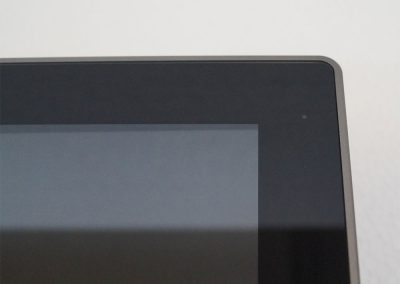 Anders Systems,Touch Panel Serie LC, Status LED in der Glasfront